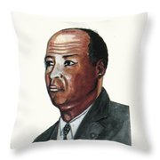 Louis Tmpkins Wright Throw Pillow