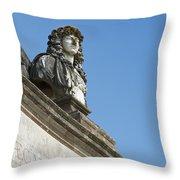 Louis Xiv  Throw Pillow