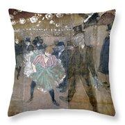 Louise Weber (1866-1929) Throw Pillow