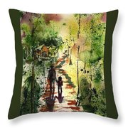 Louisiana Bayou Throw Pillow