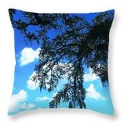 Louisiana Skyscape Throw Pillow