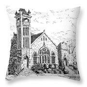 Louisianna Church 1 Throw Pillow