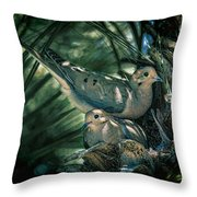 Love A Dove Dove Throw Pillow