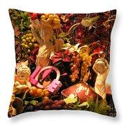 Love And Joy Throw Pillow