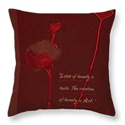 Love Art 4 Throw Pillow
