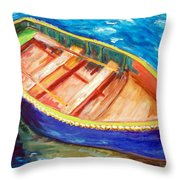Love Boats Throw Pillow