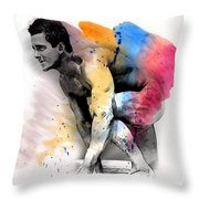Love Colors - 2 Throw Pillow