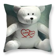 Love Ever Lasting Throw Pillow
