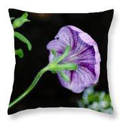 Love In The Garden Throw Pillow