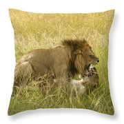 Love In The Wild Throw Pillow