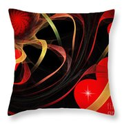 Love Is A Gift From The Heart Throw Pillow