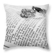 Love Is Patient Love Is Kind N Throw Pillow
