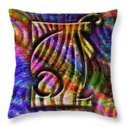 Love Letters I Throw Pillow