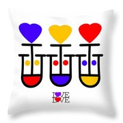 Love Love Throw Pillow