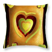 Love Of Fruit And Jello Throw Pillow