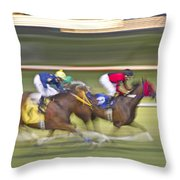 Love Of The Sport Throw Pillow