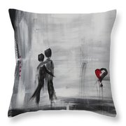 Love Story 1 Throw Pillow