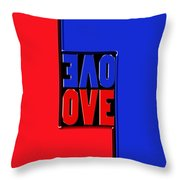 Love Squared Throw Pillow