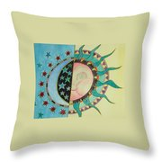 Love You Day And Night Throw Pillow