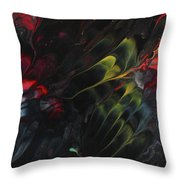 Lovebirds In The Night 01 Throw Pillow