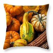 Lovely Autumn Throw Pillow