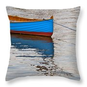 Lovely Boat Throw Pillow