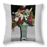 Lovely Floral Arrangement Throw Pillow