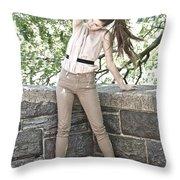 Lovely Legs Throw Pillow