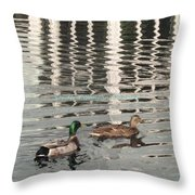 Lovely Pair  Throw Pillow