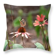 Lover Of Coneflowers Throw Pillow