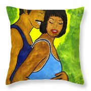 Love's Gift Throw Pillow
