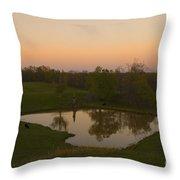 Loving The Sunset Throw Pillow