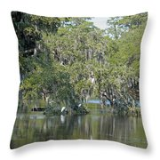 Lowcountry Landscape Throw Pillow