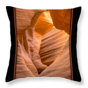 Lower Canyon 17 Throw Pillow