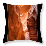 Lower Canyon 2 Throw Pillow