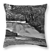 Lower Tahquamenon Falls 6140b Throw Pillow