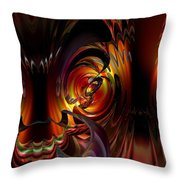 Lsd Dragon Inside Out Fx  Throw Pillow