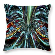 Lsd Nigthmare And Trips Fx  Throw Pillow