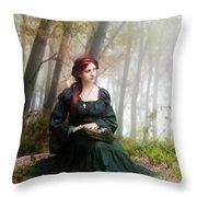 Lucid Contemplation Throw Pillow