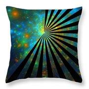 Lucky Star-image Throw Pillow