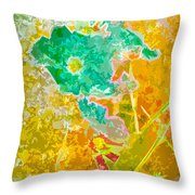 Lucy In The Sky Throw Pillow