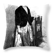 Lucy Stone (1818-1893) Throw Pillow