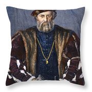 Ludovico Sforza (1452-1508) Throw Pillow