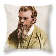 Ludwig Boltzmann, Austrian Physicist Throw Pillow