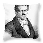 Ludwig Tieck (1773-1853) Throw Pillow