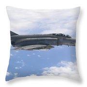 Lufwaffe F-4f Phantom Throw Pillow