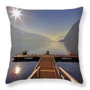 Lugano Throw Pillow by Joana Kruse