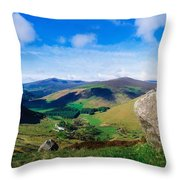 Luggala, Co Wicklow, Ireland Throw Pillow