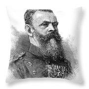 Luitpold (1821-1912) Throw Pillow