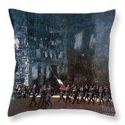 Luks - Blue Devils 1918 Throw Pillow